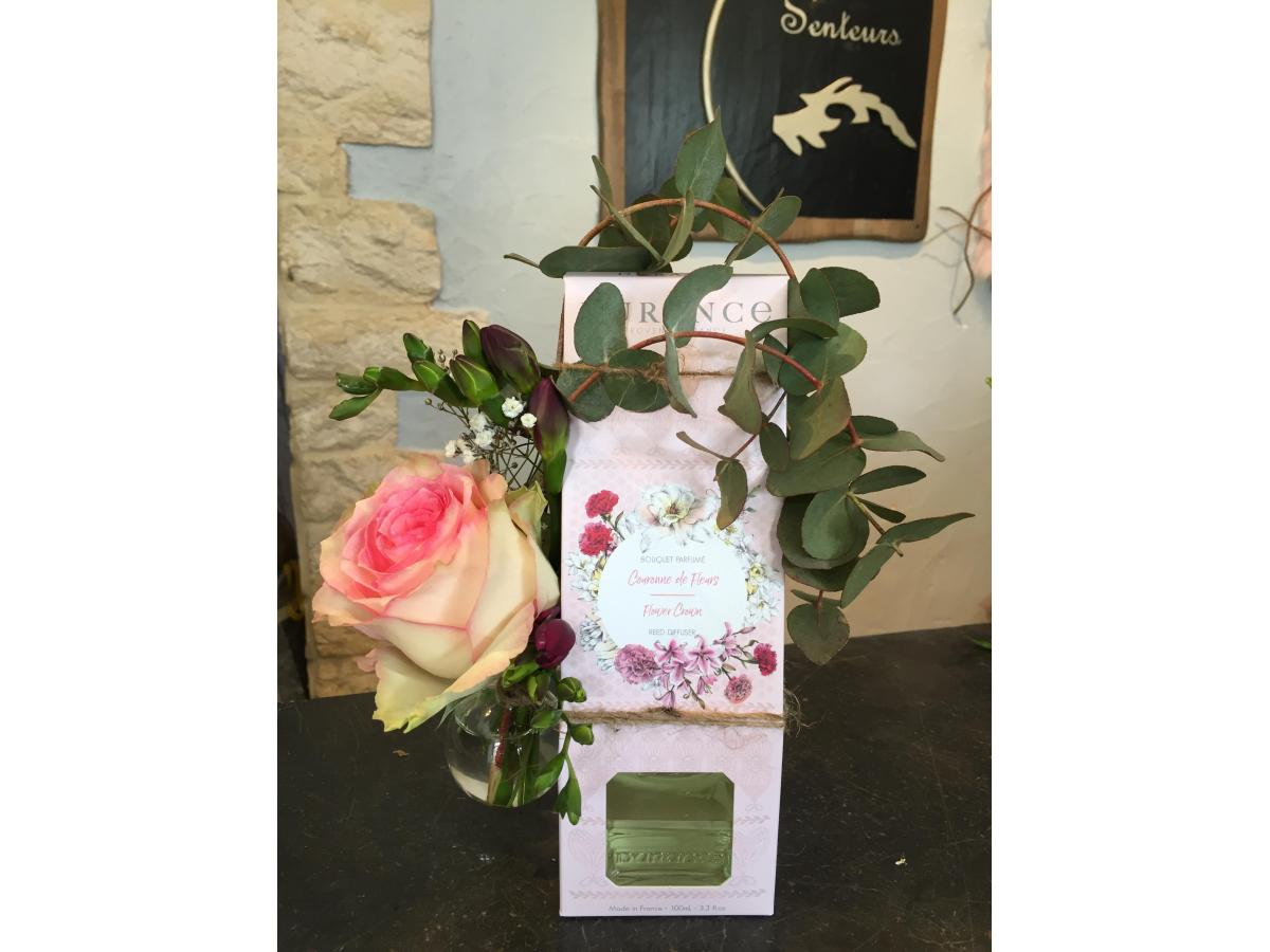 Bouquet parfumé de DURANCE et ses fleurs