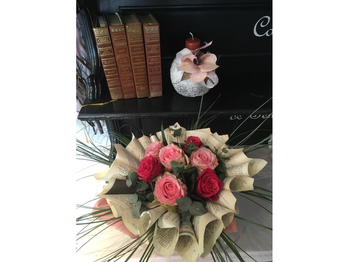 Bouquet rose d'équateur