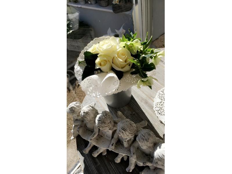 Bouquet fêtes des mamies dentelles