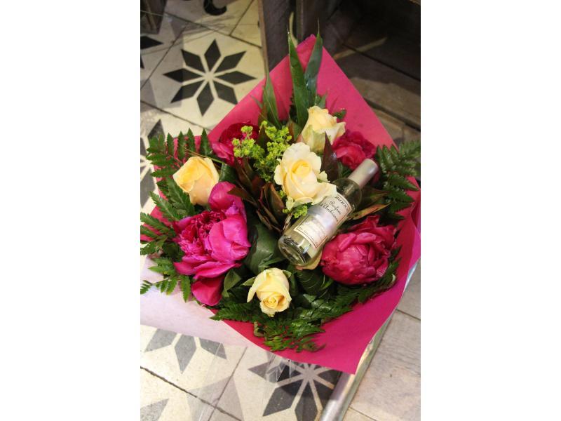 Bouquet Pastel + Parfum d'ambiance de chez Durance.